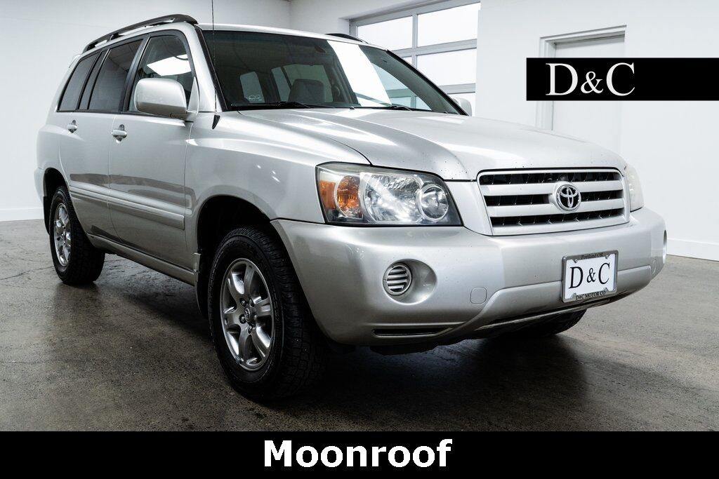 2006 Toyota Highlander Moonroof Portland OR