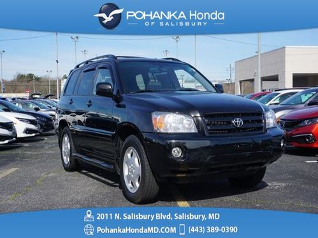 2006_Toyota_Highlander_V6 AWD ** NAVI & SUNROOF ** GUARANTEED FINANCING **_ Salisbury MD