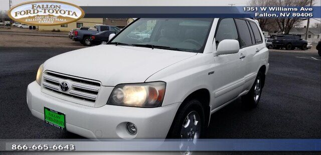 2006 Toyota Highlander WAGON 4 DOOR