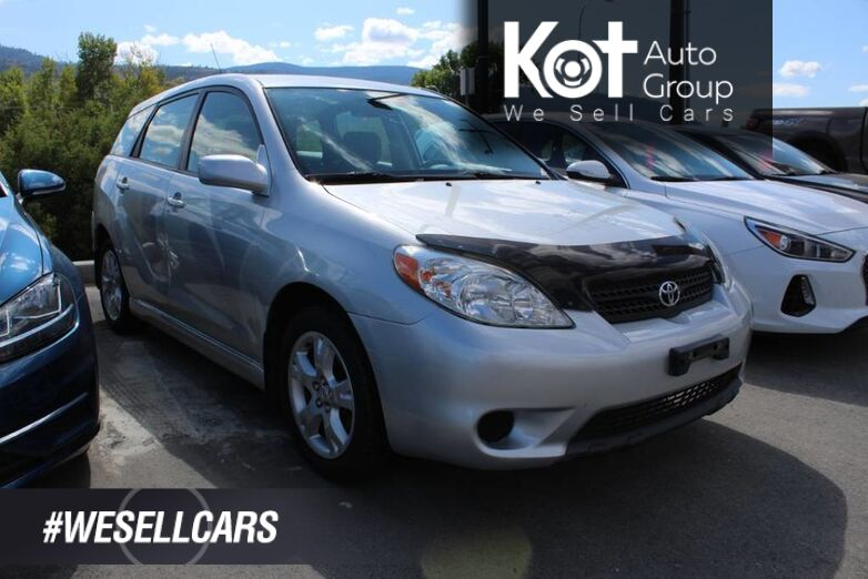 2006 Toyota Matrix XR, Low Km's, Clean Carfax Kelowna BC