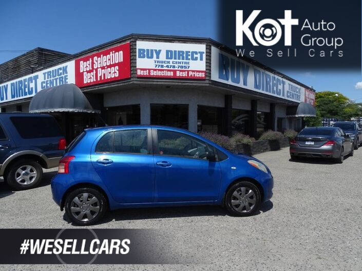 2006 Toyota Yaris LE Hatchback, Manual Transmission Kelowna BC
