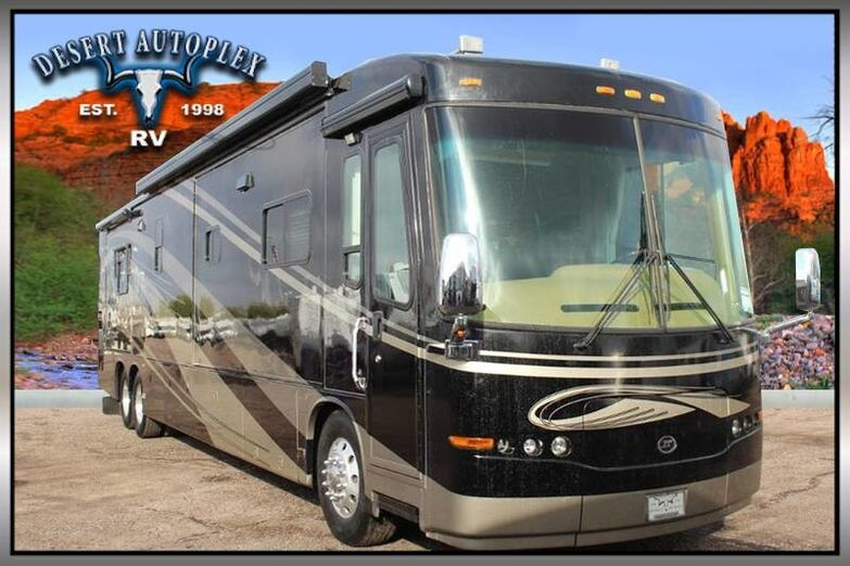 2006 Travel Supreme Select TS 45DL24 Quad Slide Class A Diesel RV Mesa AZ