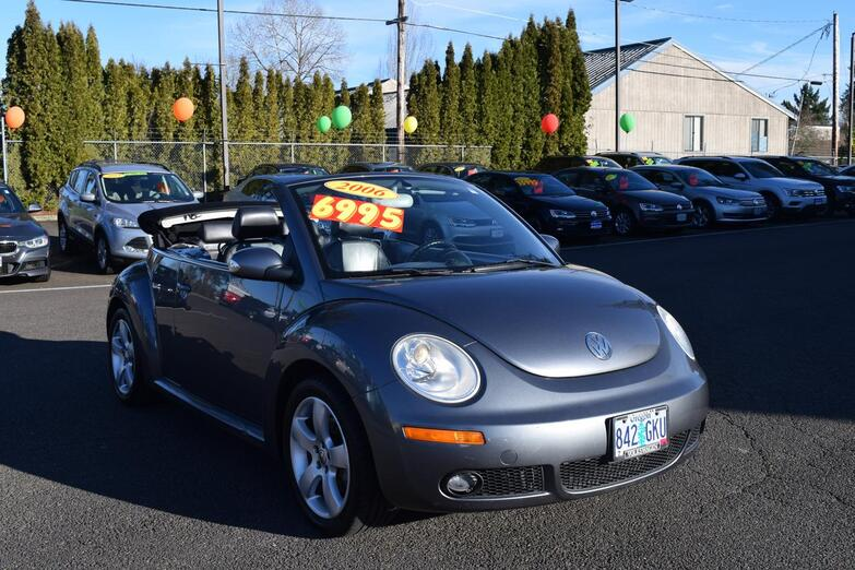 2006 Volkswagen New Beetle Convertible  McMinnville OR
