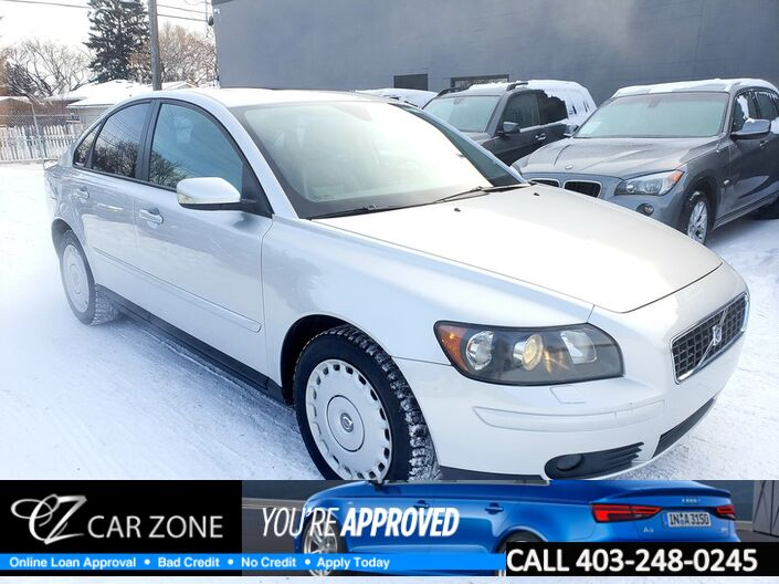 2006 Volvo S40 2.4L LEATHER SUNROOF LOW KMS Calgary AB
