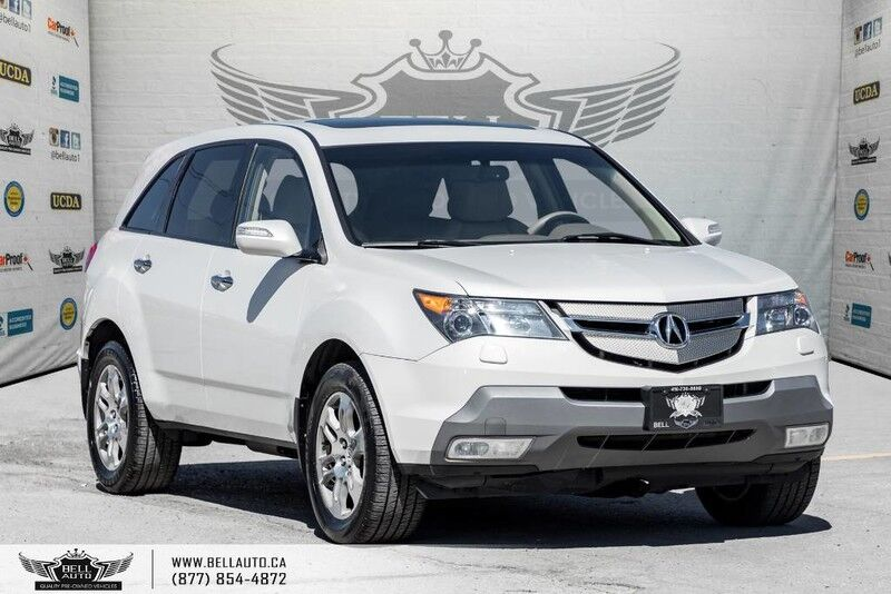2007 Acura MDX AWD, 7 PASS, SUNROOF, HEATED SEAT, LEATHER, MEMO SEAT,