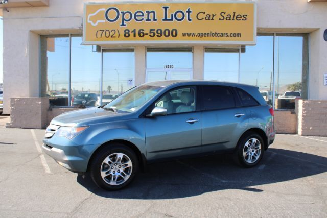 2007 Acura MDX Tech Package with Rear DVD System Las Vegas NV
