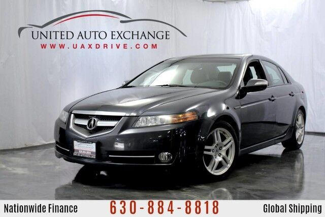 2007 Acura TL 3.2L V6 Engine FWD w/ Bi-Xenon Headlights, Power Sunroof, DVD Audio, 8 Speaker Sound System, Bluetooth Connectivity, Heated Leather Seats, Outside Temperature Gauge Addison IL
