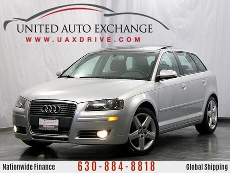 2007 Audi A3 Hatchback Automatic FWD w/Panoramic Sunroof Addison IL