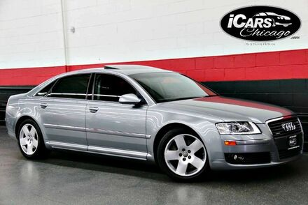 2007_Audi_A8 L_4dr Sedan_ Chicago IL