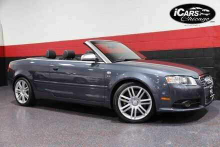 2007_Audi_S4_2dr Convertible_ Chicago IL