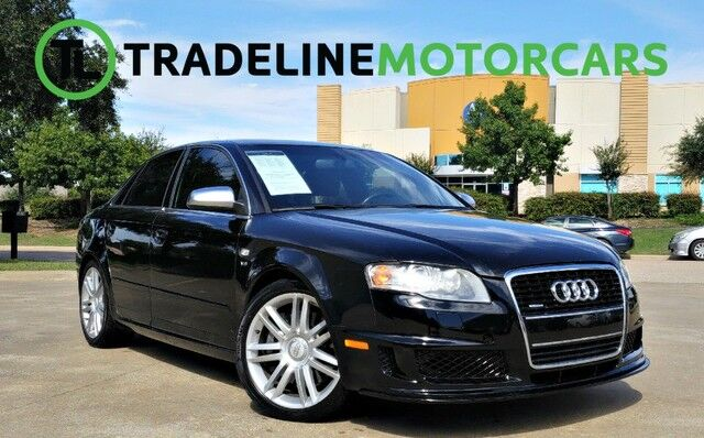 2007 Audi S4 BOSE AUDIO, SUNROOF, LEATHER, AND MUCH MORE!!! CARROLLTON TX