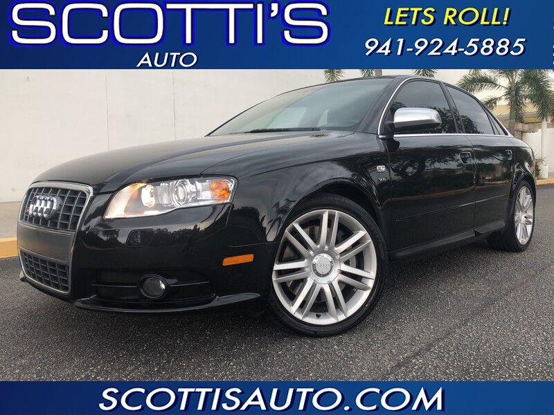 2007 Audi S4 S4~ 1-OWNER~8 CYL~ VERY WELL SERVICED~ CLEAN CARFAX~GREAT PRICE!! ONLINE BUYING PROCESS!! Sarasota FL