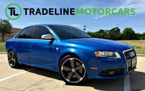 2007_Audi_S4_V8 SPORT WHEELS, RECARO SEATS, BACK UP CAMERA, SUNROOF, AND MORE_ CARROLLTON TX