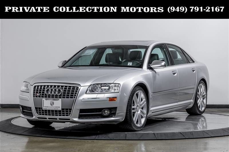 2007_Audi_S8_1 Owner Clean Carfax $111,295 MSRP_ Costa Mesa CA