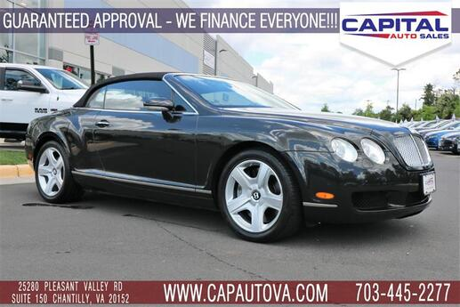 2007 BENTLEY CONTINENTAL GTC  Chantilly VA