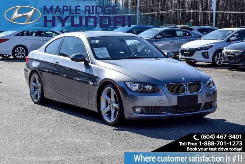 2007 BMW 3 Series 2dr Cpe 335i RWD Maple Ridge BC