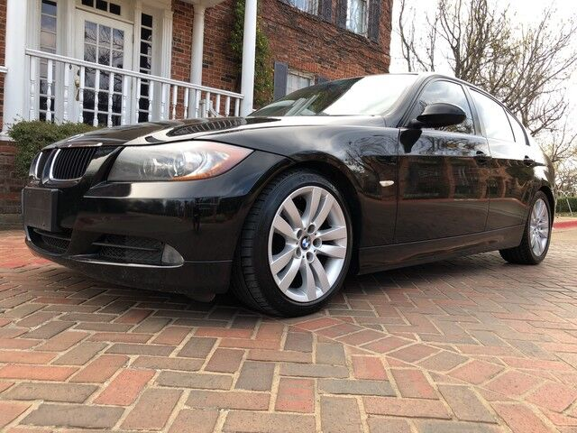2007 BMW 3 Series 328i SPORT PACKAGE Gorgeous Black with napa leather  interior AWESOME CAR!