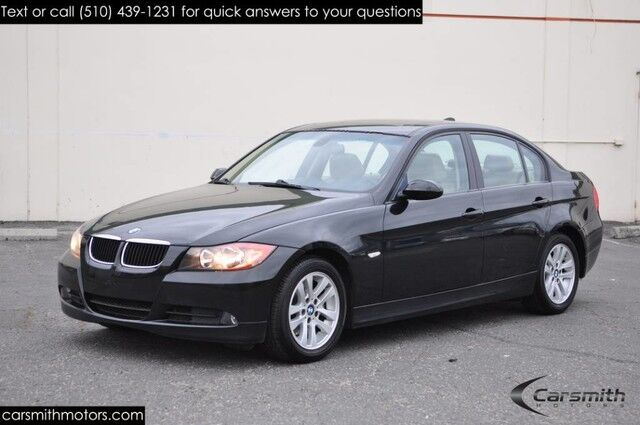 2007 BMW 328 One Owner/Recently Serviced/California Local Car Leather, MoonRoof/Heated Seats Fremont CA