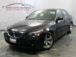 2007_BMW_5 Series_525i / 3.0L Engine / RWD / Sunroof / Heated Leather Seats_ Addison IL