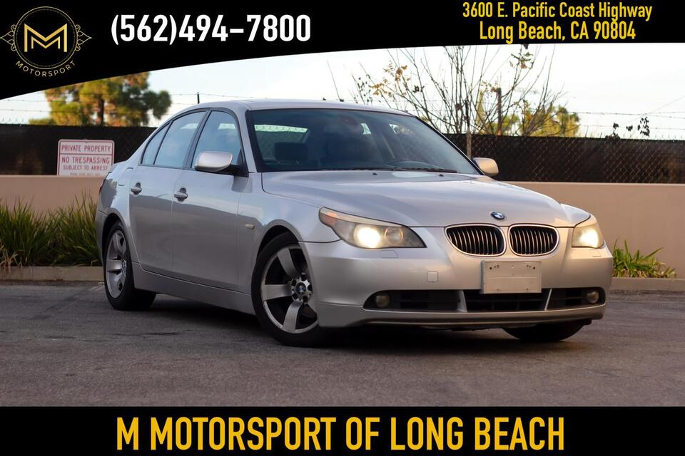 2007_BMW_5 Series_525i Sedan 4D_ Long Beach CA