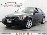 2007 BMW 5 Series 530xi Sport Package AWD w/ Sunroof, Front and Rear Parking Aid