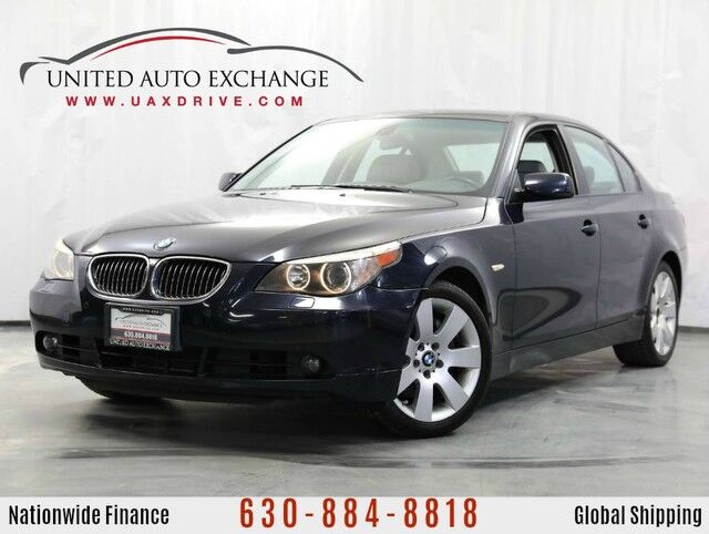 2007 BMW 5 Series 530xi Sport Package AWD w/ Sunroof, Front and Rear Parking Aid Addison IL