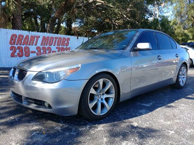 2007_BMW_5 Series_550i_ Fort Myers FL
