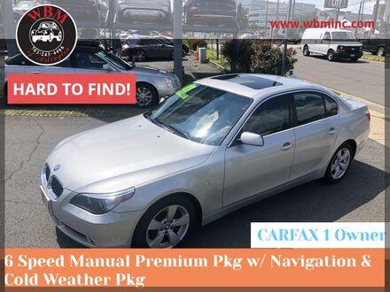 2007_BMW_530xi_w/ Premium Package_ Arlington VA