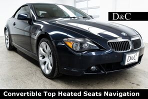 2007_BMW_6 Series_650i Convertible Top Heated Seats Navigation_ Portland OR