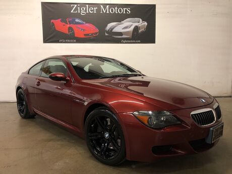 2007 BMW 6 Series M6 Coupe Low miles Carbon Fiber Roof HUD Clean Carfax Addison TX