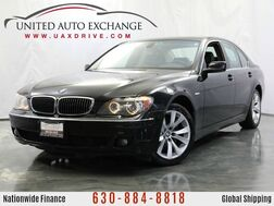 2007_BMW_7 Series_4.8L V8 Engine RWD 750i Sport w/ Navigation, Power Sunroof, Heated & Ventilated Leather Seats, Bluetooth Connectivity, Front and Rear Parking Aid, 4-zone Climate Control_ Addison IL