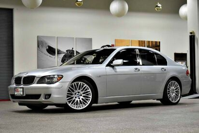 2007_BMW_7 Series_750i_ Boston MA