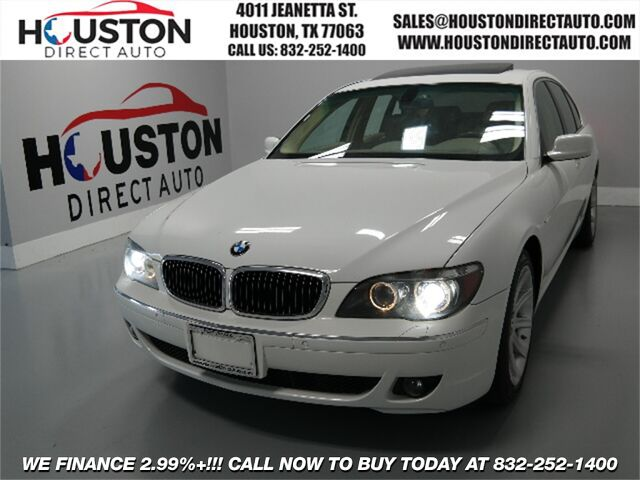 2007 BMW 7 Series 750i Houston TX