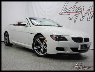 2007_BMW_M6_CONVERTIBLE Full Leather Pkg Heads-Up Carbon Fiber_ Villa Park IL