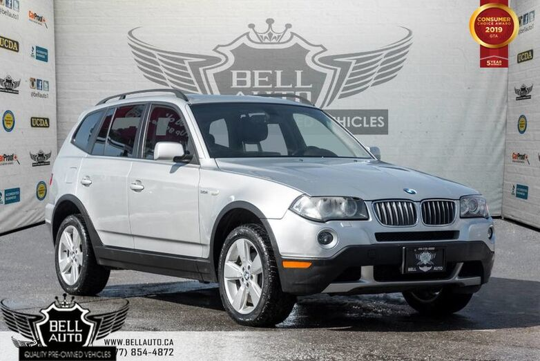 2007 BMW X3 3.0i, LEATHER, PANO ROOF, HEATED SEATS, POWER LOCK/ WINDOWS, Toronto ON