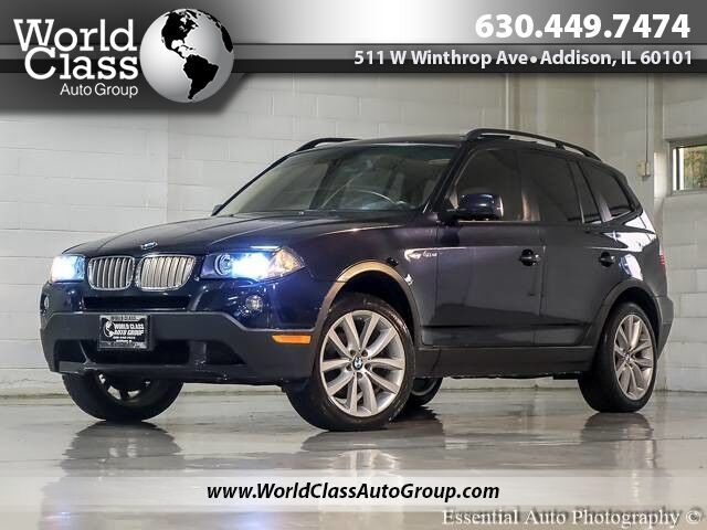 2007 BMW X3 3.0si LEATHER SUNROOF XENONS Chicago IL