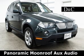 2007_BMW_X3_3.0si Panoramic Moonroof Aux Audio_ Portland OR