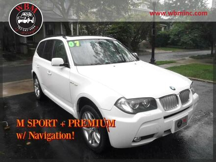 2007_BMW_X3_w/ M Sport Package_ Arlington VA