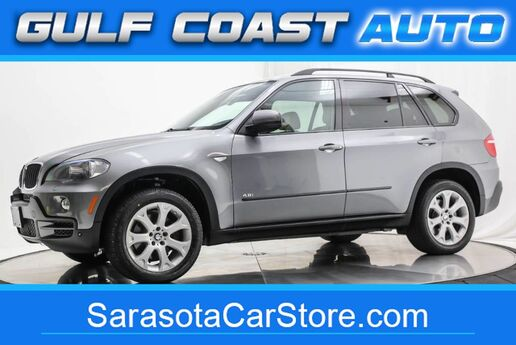 2007 BMW X5 4.8i LEATHER NAVIGATION SERVICED 3RD ROW SEAT EXTRA CLEAN Sarasota FL