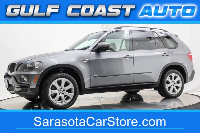 2007_BMW_X5_4.8i LEATHER NAVIGATION SERVICED 3RD ROW SEAT EXTRA CLEAN_ Sarasota FL
