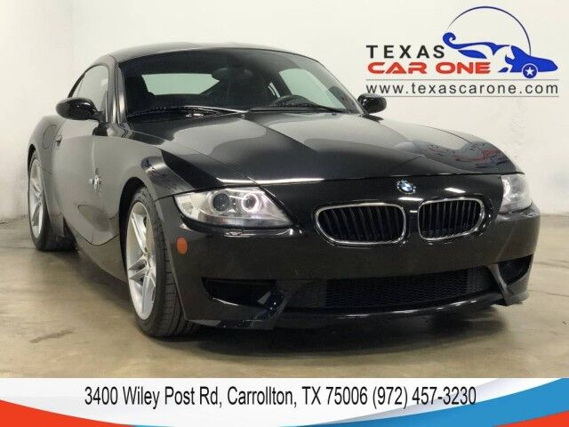 2007 BMW Z4 M LEATHER SPORT SEATS HEATED FRONT SEATS AUTOMATIC CLIMATE CONTROL Carrollton TX