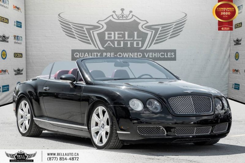 2007 Bentley Continental CABRIOLET GTC, AWD, V12, TWN TURBO, NAVI, SOLD SOLD SOLD!! Toronto ON