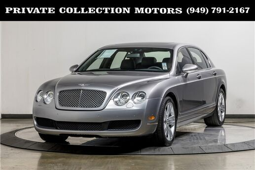 2007 Bentley Continental Flying Spur Two Owner Clean Carfax Costa Mesa CA