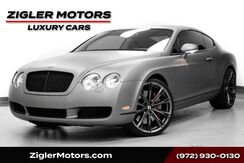 2007_Bentley_Continental GT_Coupe Low Miles Satin Wrap! 22 Inch Wheels,EXCELLENT CONDITION_ Addison TX