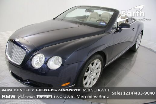 2007 Bentley Continental GTC  Carrollton TX