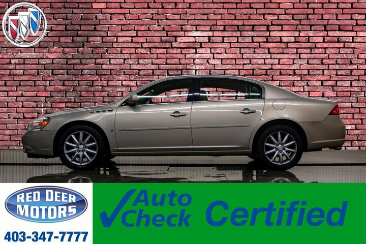 2007 Buick Lucerne CXS Leather Red Deer AB