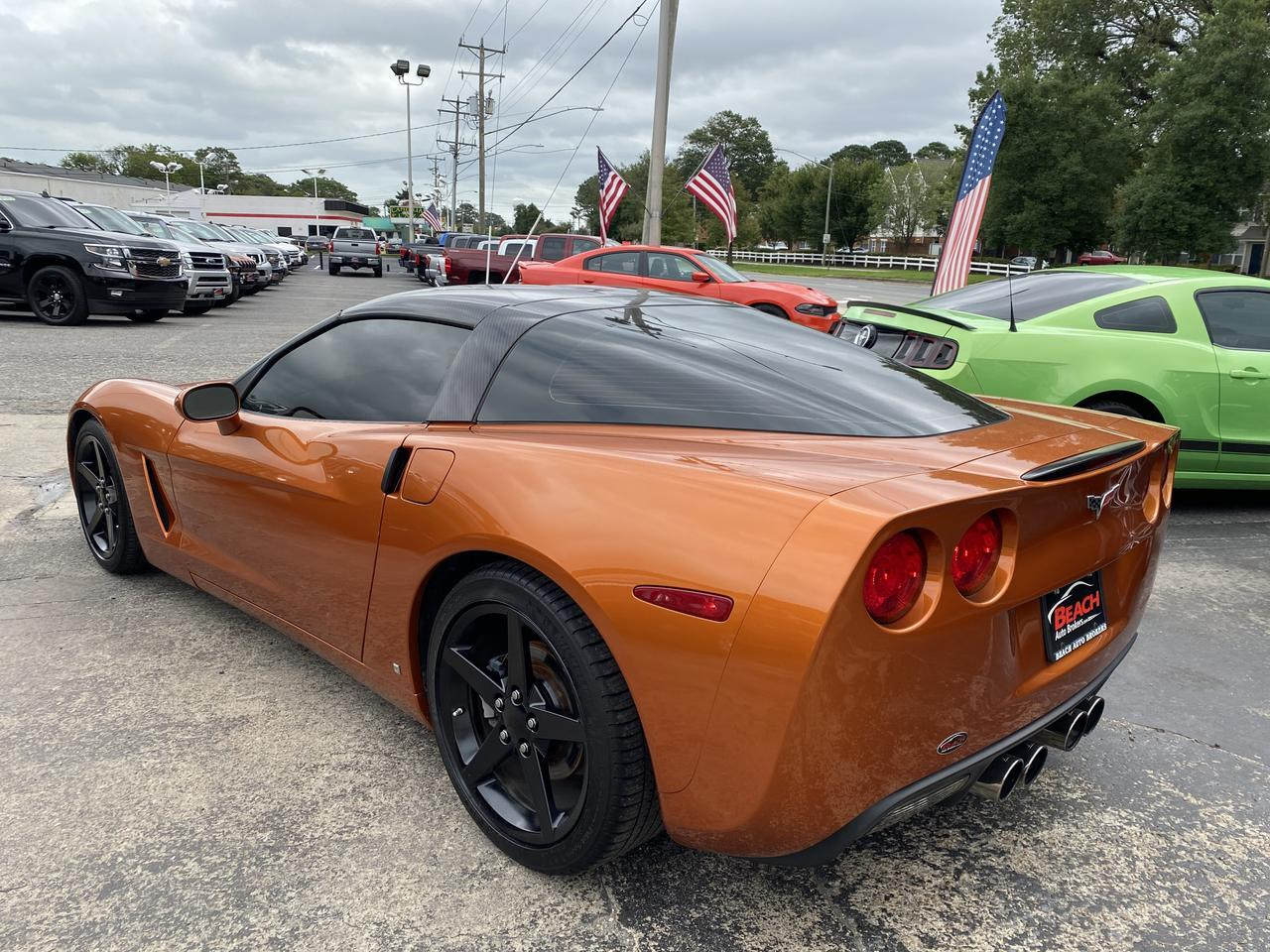 2007 CHEVROLET CORVETTE COUPE, WARRANTY, LEATHER,HEATED SEATS, BLUETOOTH, SUNROOF, CLEAN CARFAX, LOW MILES! Norfolk VA