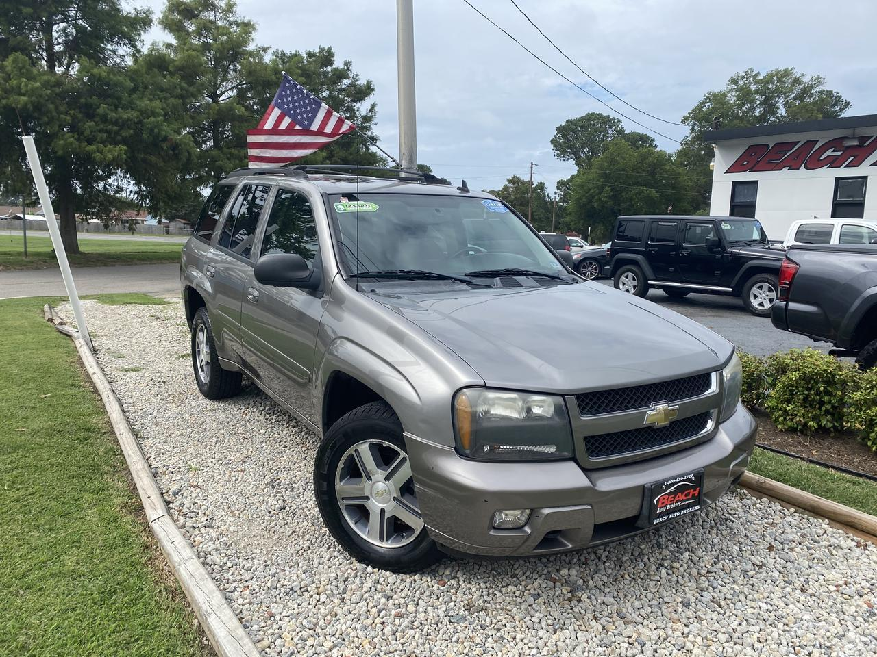 2007 CHEVROLET TRAILBLAZER LT 4X4, WHOLESALE TO THE PUBLIC, CRUISE CONTROL, GET IT BEFORE IT GOES TO AUCTION!