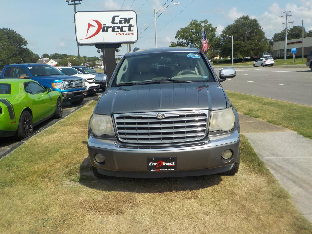 2007 CHRYSLER ASPEN LIMITED 4X4, WHOLESALE TO THE PUBLIC, LEATHER, 3RD ROW, HEATED/COOLED SEATS, CLEAN CARFAX! Virginia Beach VA