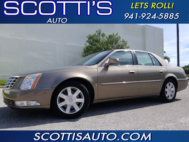 2007 Cadillac DTS ONLY 44K MILES!~FL CAR~ EXCELLENT CONDITION~SUPER LOW MILES~ CONTACT US TODAY!